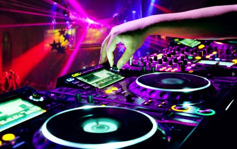Modle Carte De Visite Gratuite DJ Green Discothque Comment Trouver Un Bon Dj Pour Son Mariage