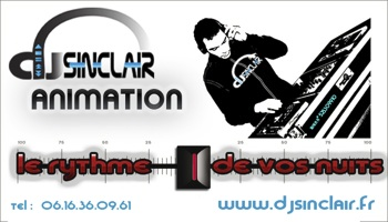 Dj Sinclair Animation logo