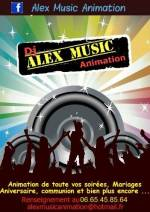 dj alex music animation