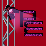 PRISCAMUSIC Dj Animations & Spectacles logo