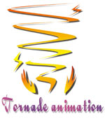 tornade animation logo