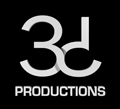 3D Productions logo